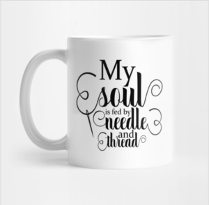 Needle and Thread Mug